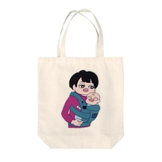 プイちゃんとピー助 Tote bags