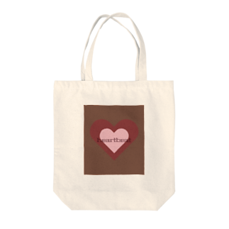 tominのheartbeat Tote bags