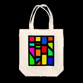 しのちゃん屋さんのちゅうしょうてき Tote bags