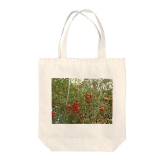 ミニトマト収穫前 Tote bags
