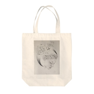 About love  Tote bags