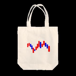 Eatn-kkのup&down Tote bags