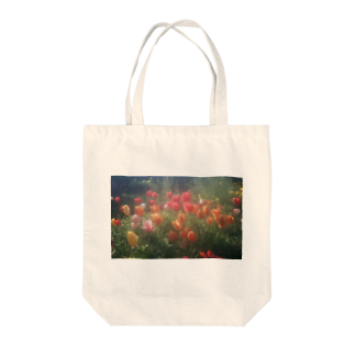 tsubaki31のチューリップ Tote bags