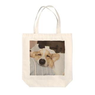 コーギーひろし Tote bags