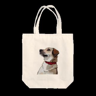 kanako-mikanのいぬ Tote bags