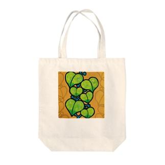 つる植物 トートバッグ