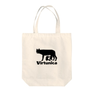 Virtunicaロゴ Tote bags