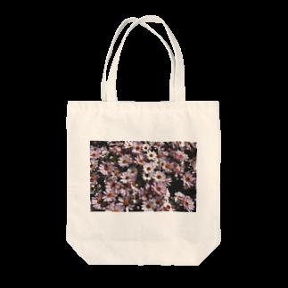 y_toniのflower Tote bags
