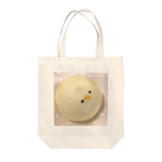 ひよこまん Tote bags