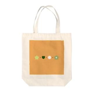 オクラ算 Tote bags