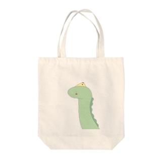 くちびるかいじゅう Tote bags