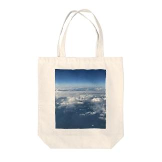 上の空 Tote bags