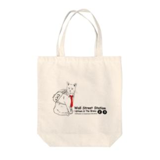 ビジネス猫 Tote bags