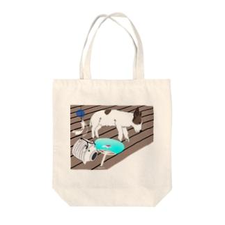 銀じいさんのなつやすみ-8月- Tote bags