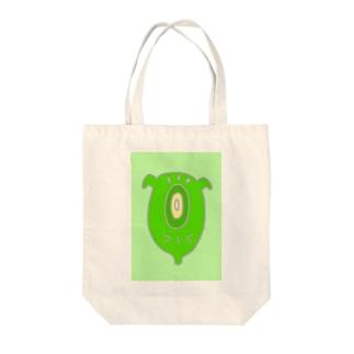 クリーン・グリーン Tote bags