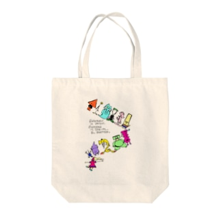 Everybody Tote bags