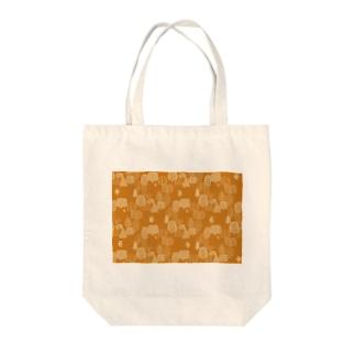 森とトリB Tote bags