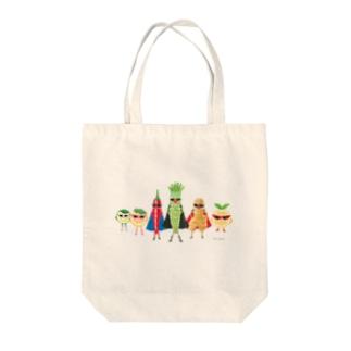 やくみレンジャー Tote bags