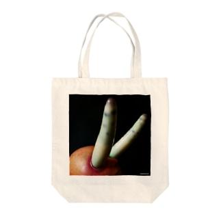 ロイコクロリディウム Tote bags