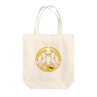 狛きつね Tote bags