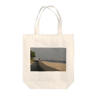 防波堤少女 Tote bags