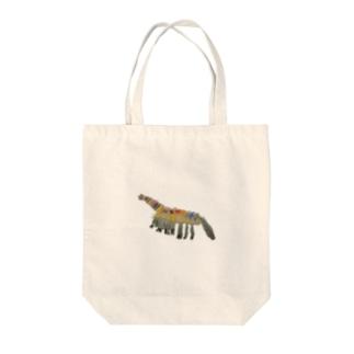 くびながりゅう Tote bags