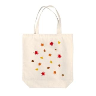 秋の柄 Tote bags
