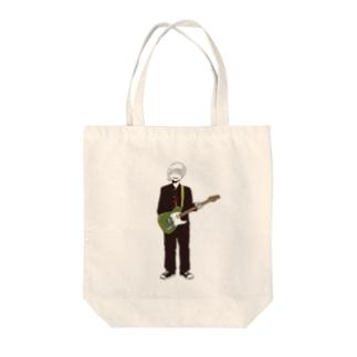 ロックスター Tote bags