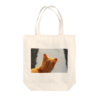 猫。秋の野原。 Tote bags