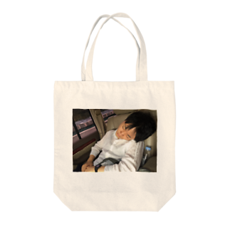 フラット(公式アカウント)のすやすやゆうた Tote bags