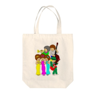 happy band Tote bags