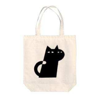ANIMALシリーズ ねこ Tote bags