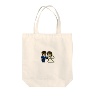 ウェディングドッツ by Kato Family Tote bags