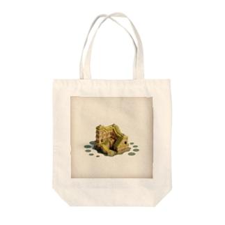 遺跡の島 Tote bags