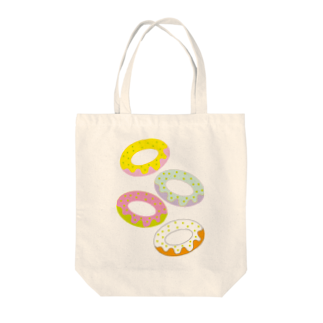 @cagari.nikoのラブリードーナッツトートバッグ