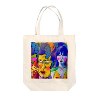 愛を輸送 Tote bags