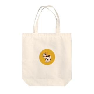 歌川国芳のお調子者犬 Tote bags