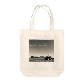 モノクロ Tote bags
