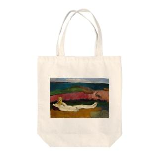 ポール・ゴーギャンの絵画 Tote bags