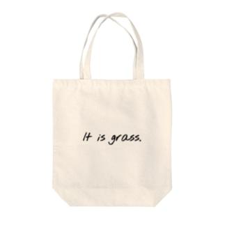 それは草グッズ Tote bags