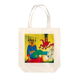 コロニーの女 Tote bags