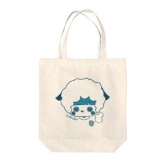 ひつじくン Tote bags