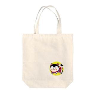 いぬはりこ Tote bags