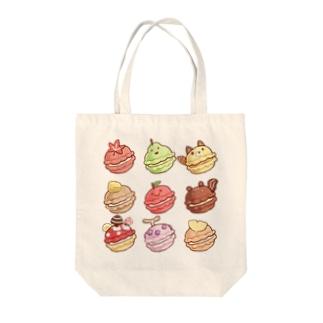 秋のマカロン Tote bags