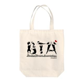 ボストンテリア同好会(BTA) Tote bags