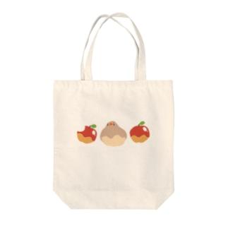 りんごきんか Tote bags