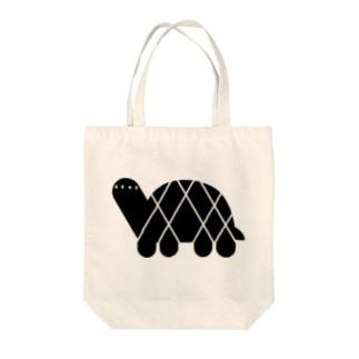 ANIMALシリーズ かめ Tote bags