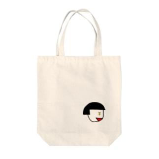 お金に目が無い Tote bags