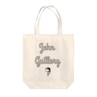 ギロリーロゴ Tote bags