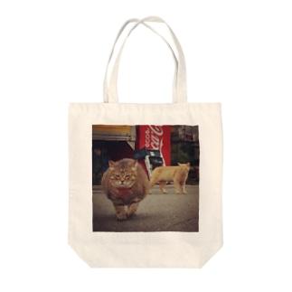 ごごちゃんの砂袋 Tote bags